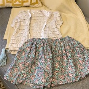 Gap Girls Vest Size 12 XL and Skirt Size 10 Plus